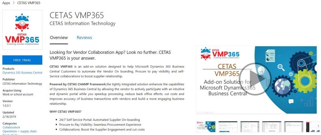 CETAS@Apps VMP365